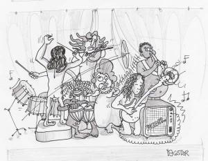 Imagen de mestizaje musical